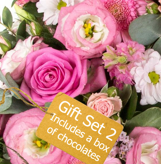 Gift Set 2 - Florist Choice Seasonal Arrangement