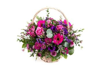 Purple & Pink Basket