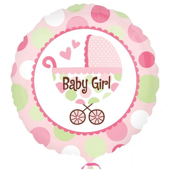 Baby Girl Balloon zoom 4