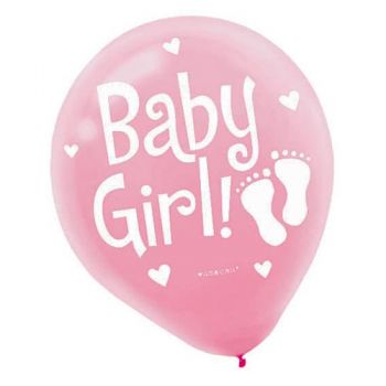Baby Girl Balloon zoom 5