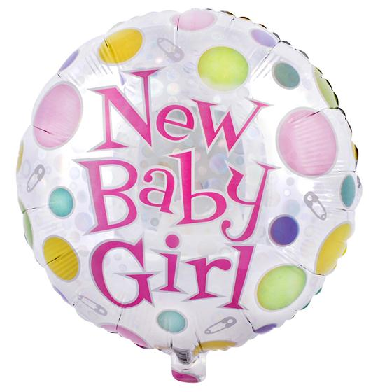 Baby Girl Balloon zoom 6